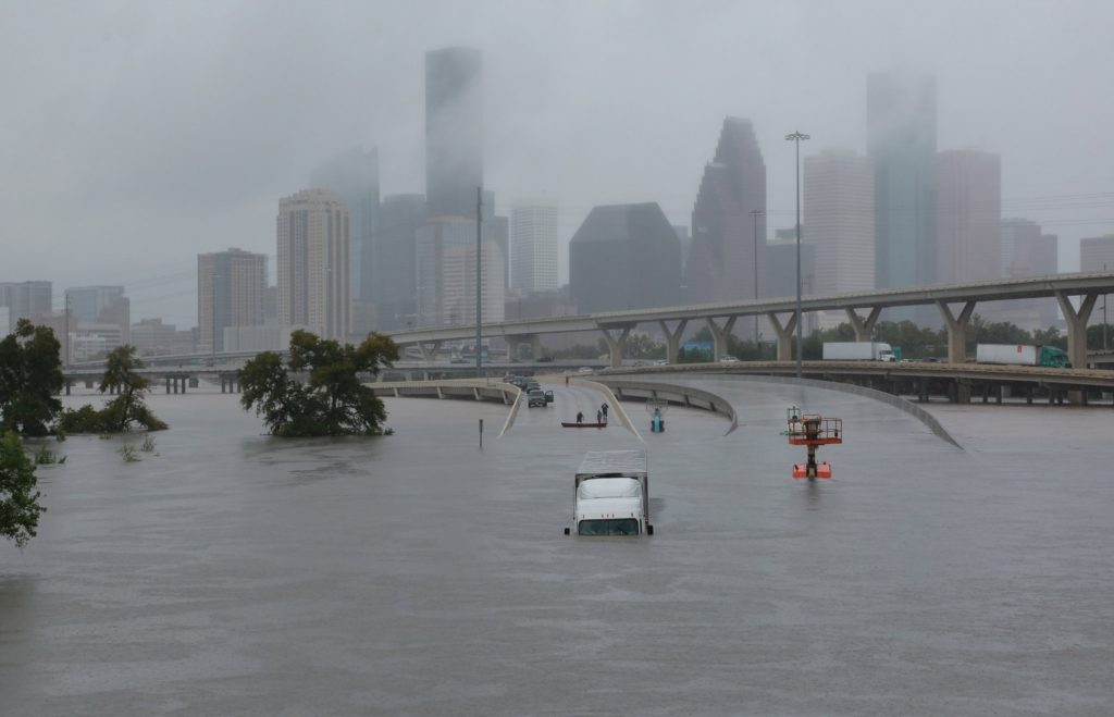 Houston flooded by Hurricane Harvey means major insurance claims